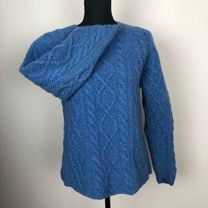 J. Crew   100% Wool Sky Blue Sweater